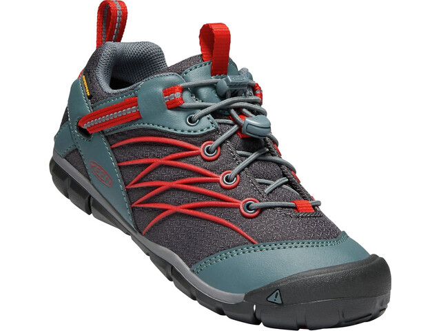 Keen Chandler CNX WP Schoenen Jongeren, stormy weather/firey red